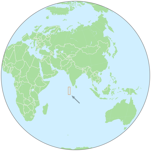 Maldives on globe - /geography/Country_Maps/global_location ...