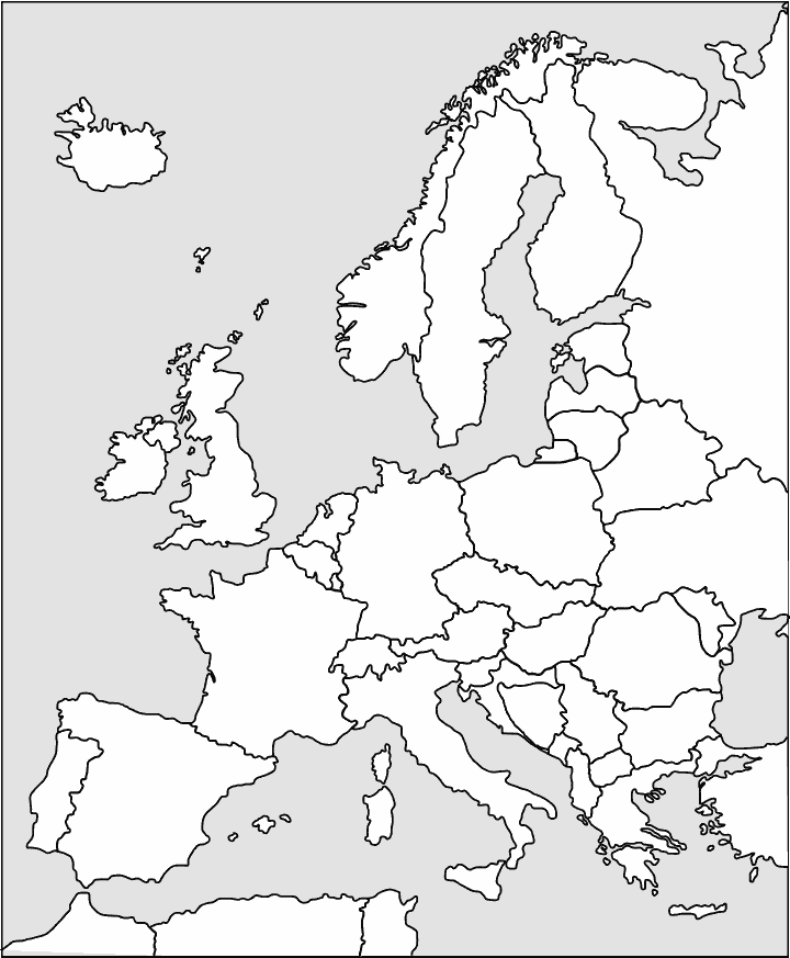 Europe Outline GeographycontinentsEuropeeuropeoutlinepnghtml - Continents outline