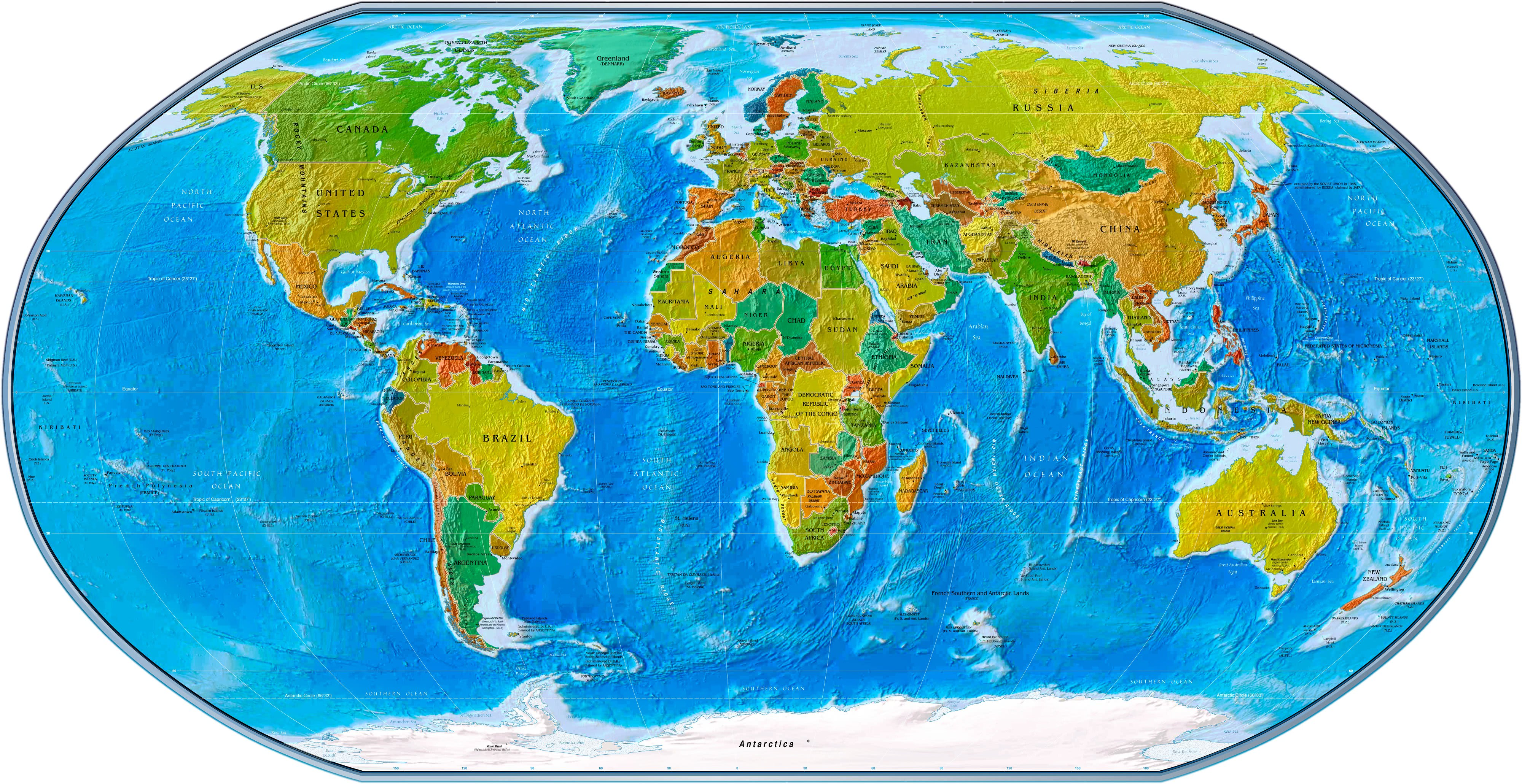Physical political world map 2007 geographyworldmapsspecialty physical political world map 2007 geography worldmapsspecialtyphysicalpoliticalworldmap2007gml gumiabroncs Image collections