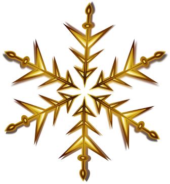 Gold Christmas Ornaments Png.Snowflake Gold Holiday Christmas Decorations