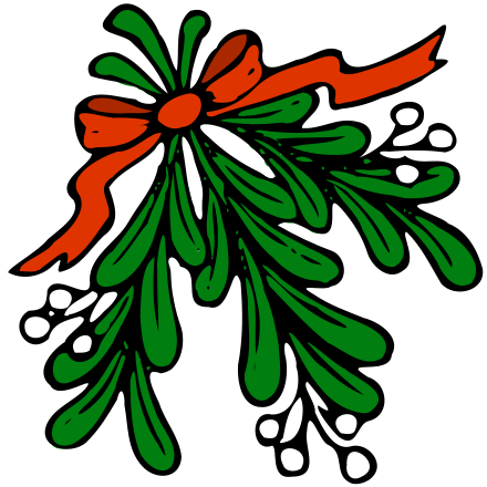 mistletoe clipart - /holiday/Christmas/decorations ...