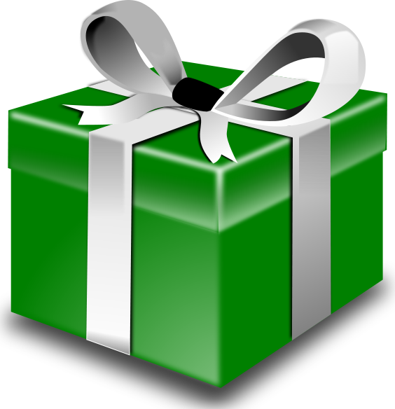 gift box green - /holiday/Christmas/gifts/gift_boxes/gift_box_green ...