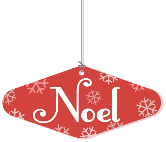Noel Hanging Ornament Holiday Christmas Ornaments Noel