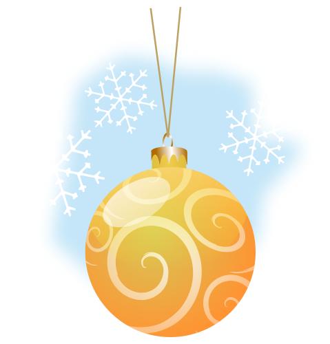 Gold Christmas Ornaments Png.Christmas Ball Gold Holiday Christmas Ornaments