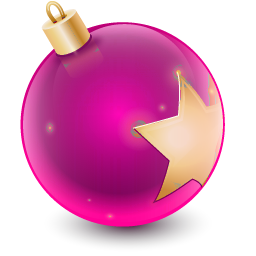 Christmas Ball Ornament Pink Holiday Christmas Ornaments