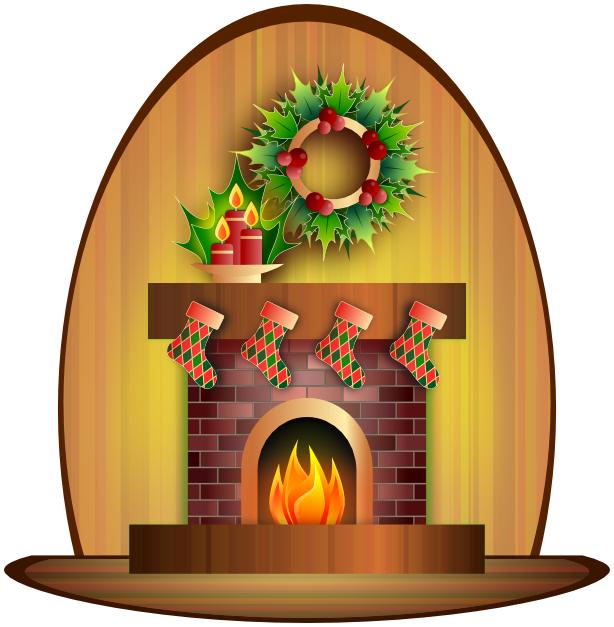 christmas fireplace holiday christmas scenes fireplace rh wpclipart com christmas fireplace clipart free Fireplace Christmas Stockings Clip Art