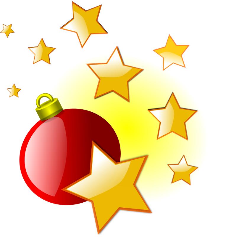 Christmas ornament and stars - /holiday/Christmas/star ...