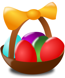 Easter Basket Icon Holiday Easter Easter Basket Icon