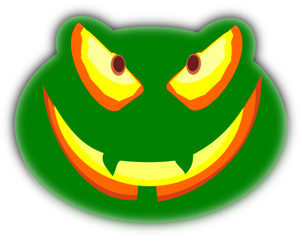 mean frog jack o lantern   holiday  halloween  jack o o clipart png o clipart png