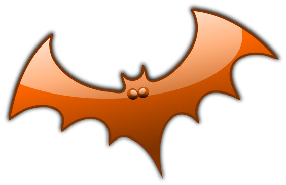 glossy bat orange - /holiday/halloween/bat/glossy_bats ...