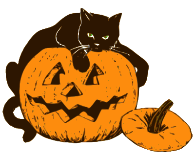 cat on halloween pumpkin   holiday  halloween  cat  more lantern clipart black and white lantern clipart black and white