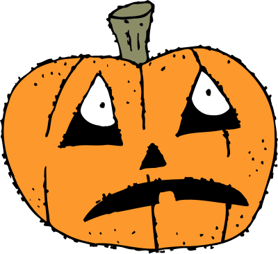 scared pumpkin   holiday  halloween  pumpkin  more pumpkins halloween pumpkin clipart outline halloween pumpkin clipart black and white