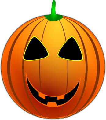 halloween smiley pumpkin   holiday  halloween  smiley halloween jack o lantern clipart Clip Art Jack Lanterns