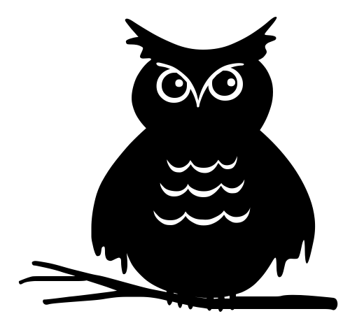 owl staring   holiday  halloween  spooky scenes  owl  owl owl black and white clip art jpeg owl black and white clip art jpeg