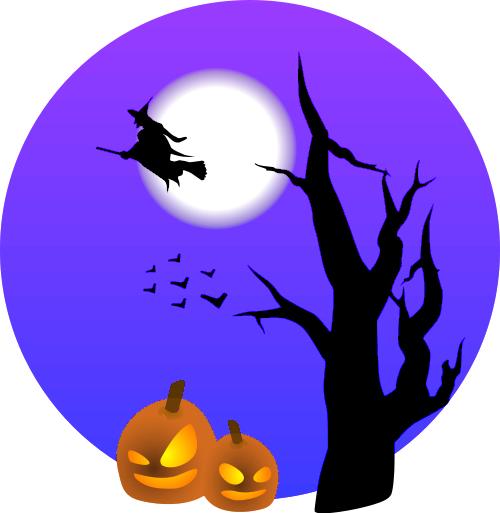 halloween scene   holiday  halloween  spooky sorta  halloween scene png html halloween clip art images halloween clipart borders