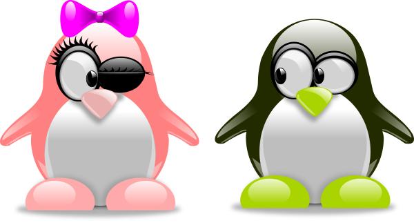 penguin love - /holiday/valentines/Valentine_animals