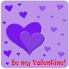 be my valentine hearts