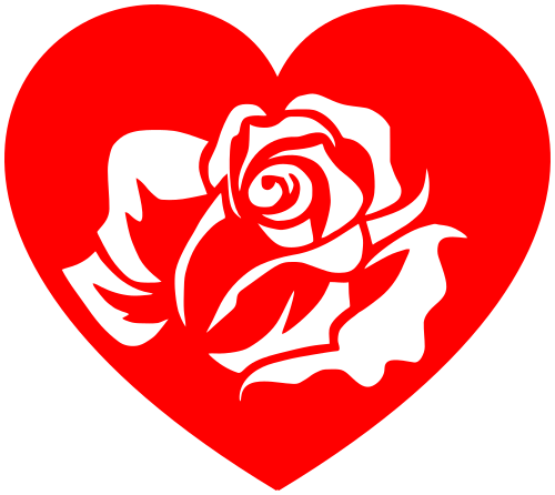 heart rose   holiday  valentines  valentine hearts  heart valentine heart clip art disney valentine heart clipart free