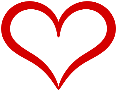 heart red curvy outline - /holiday/valentines/valentine_hearts/other ...