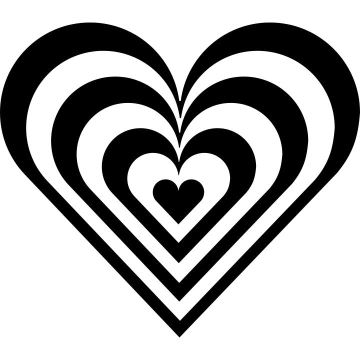 Zebra Heart Holidayvalentinesvalentineheartszebraheartgml
