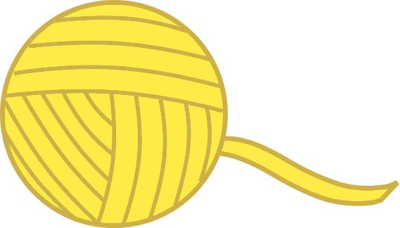 Yarn Ball Yellow Household Chores Sewing Yarn Yarn Ball