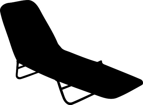 lounge chair silhouette 2 - /household/furniture/outdoor ...