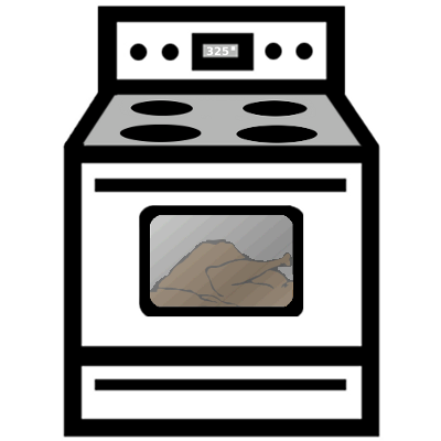 Oven With Turkey Household Kitchen Appliances Oven Stove