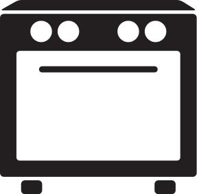 Stove Icon Household Kitchen Appliances Oven Stove