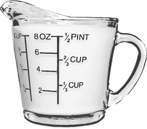 measuring cup BW - /household/kitchen/gadgets/measuring ...