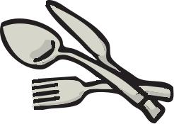 Kitchen Utensils Clipart Black And White