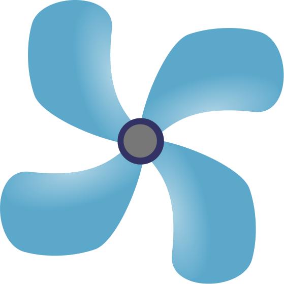 ceiling fan blue - /household/odds_and_ends/fans/ceiling_fan_blue ...