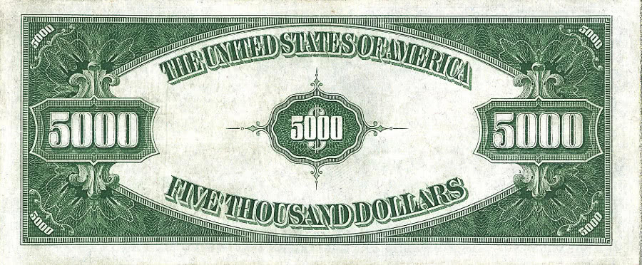 Dollar Bill Back High Resolution Stock Photography and Images - Alamy