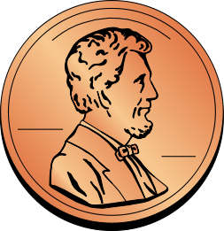 coin US penny - /money/coins/coin_US_penny png html