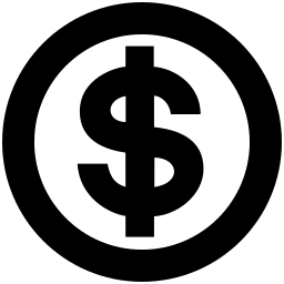 dollar round icon money dollar symbol symbol 2 dollar round icon