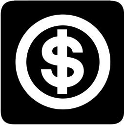 Dollar Square Icon Money Dollar Symbol Symbol 3 Dollar Square Icon Png Html