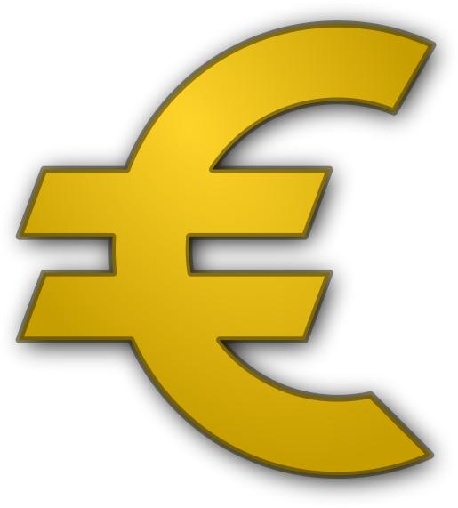 Euro Gold Moneyeurosignseurogoldgml