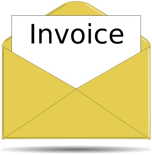 invoice letter   money  paperwork  invoice letter png html letters clip art black and white letters clip art printable
