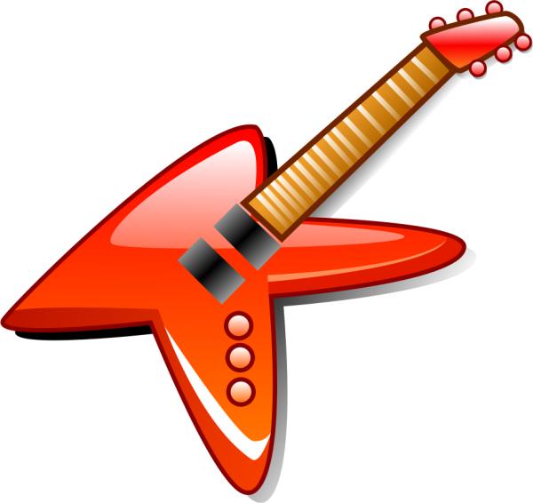 Hot Electric Guitar