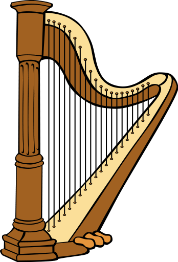 harp   music  instruments  harp  harp png html instrument clip art transparent instruments clip art svg