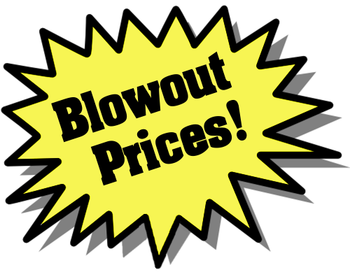 143f053c8 blowout prices left yellow -  office sale promo burst yellow ...