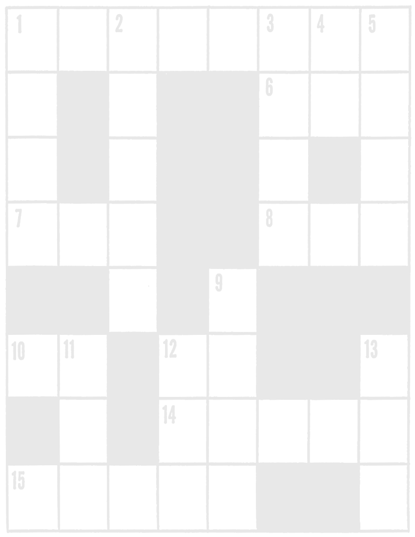 Crossword Background Page