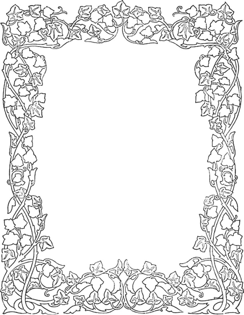 ivy border - /page_frames/floral/ivy_border.png.html