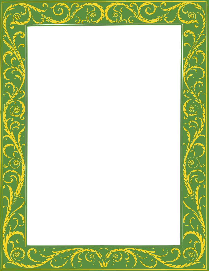 twisted vines frame page frames floral leaves twisted vines frame png html twisted vines frame page frames
