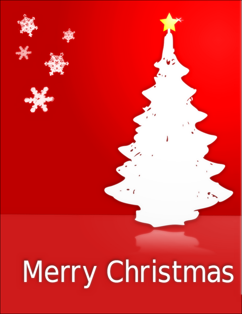 Merry Christmas Images Png.Merry Christmas Card Red Tree Page Frames Holiday