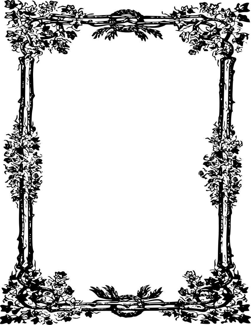 Ornate Frame 118
