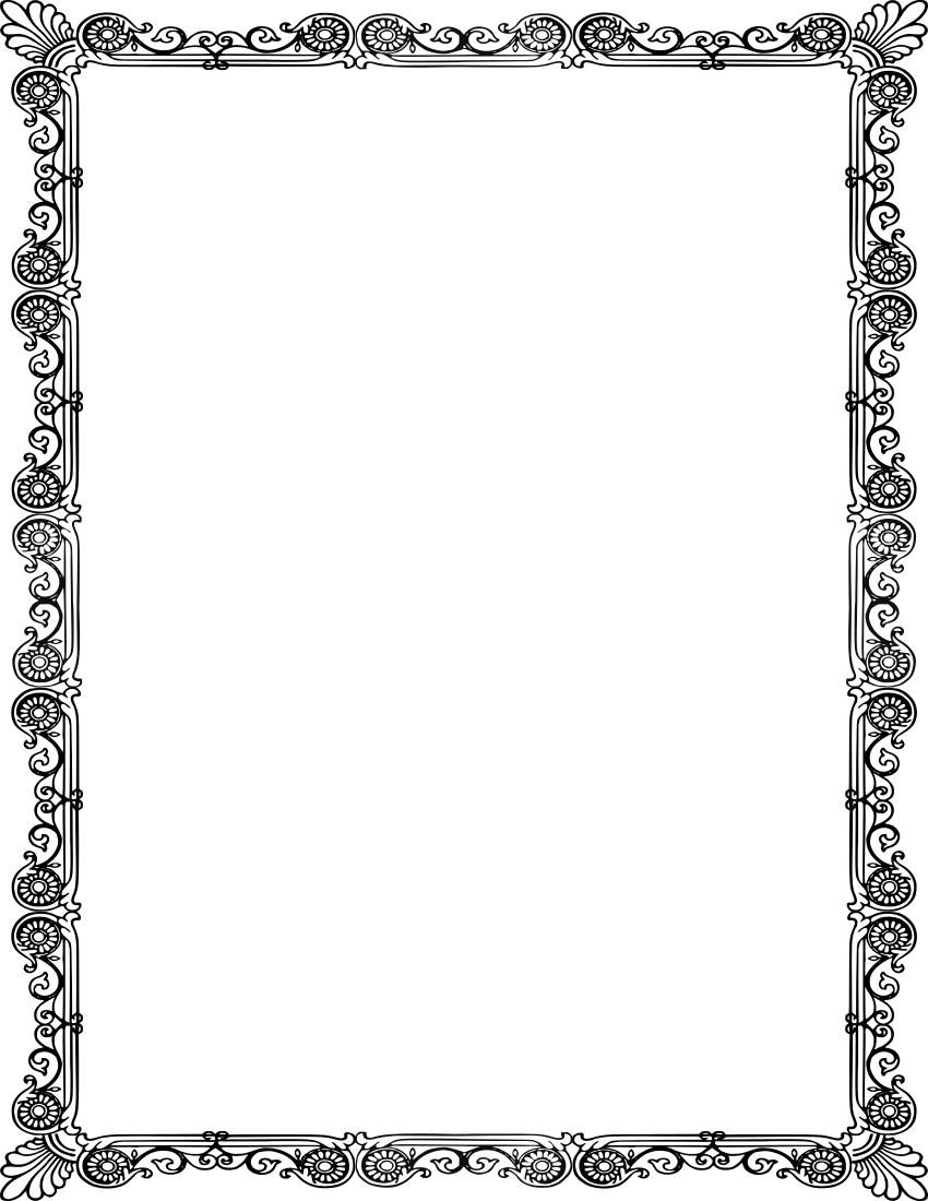 Ornate Frame Crisp