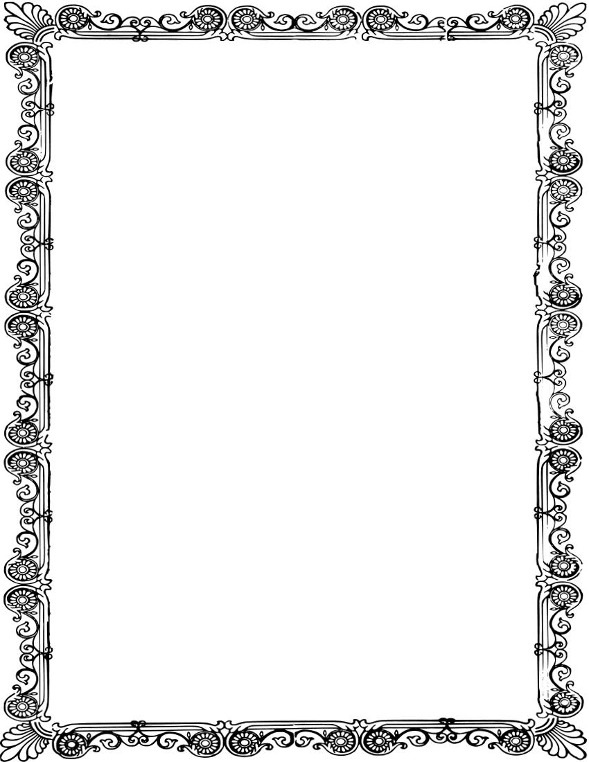 black and gold frame png. Ornate Old Frame Page Frames Borders . Gold Black And Png