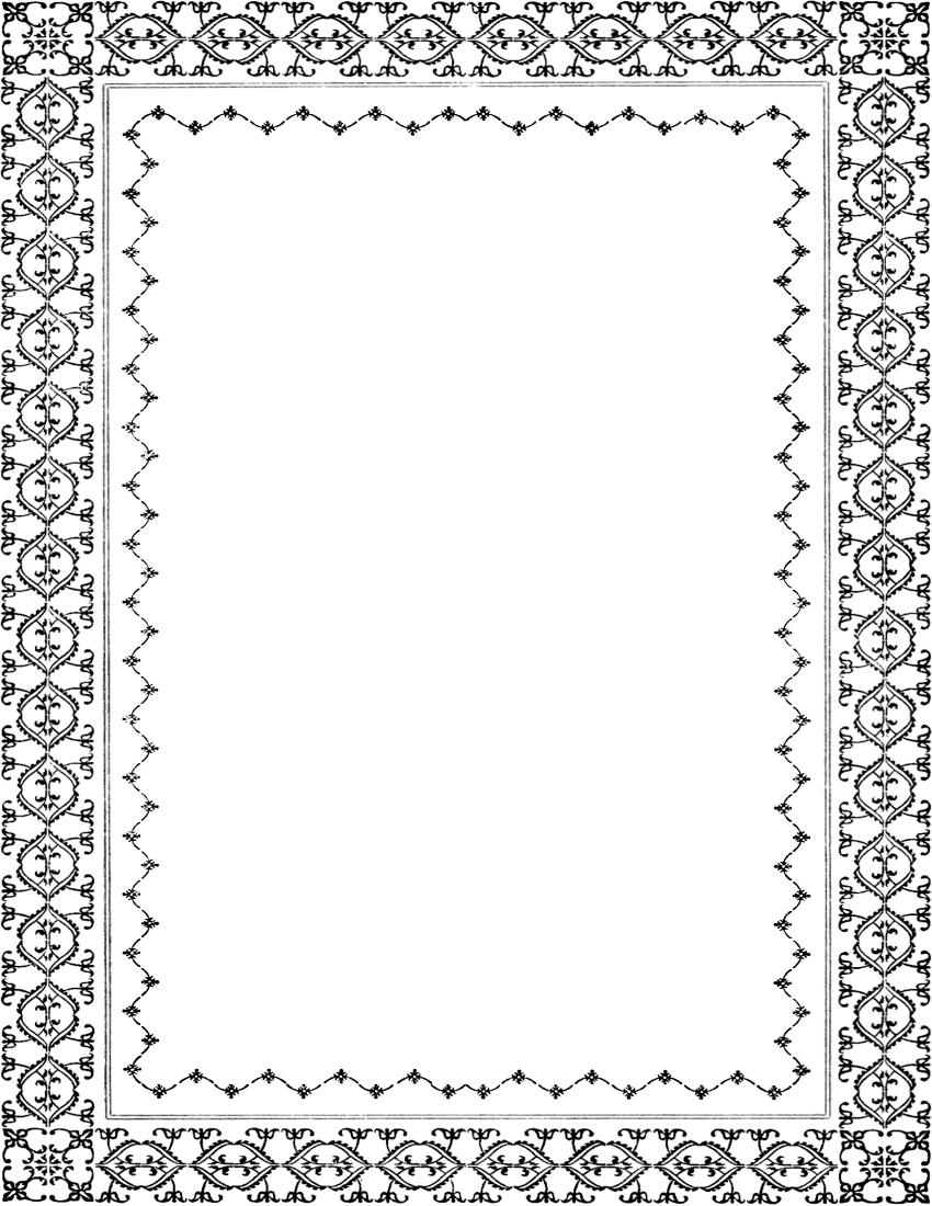 vintage border page - /page_frames/old_ornate_borders ...
