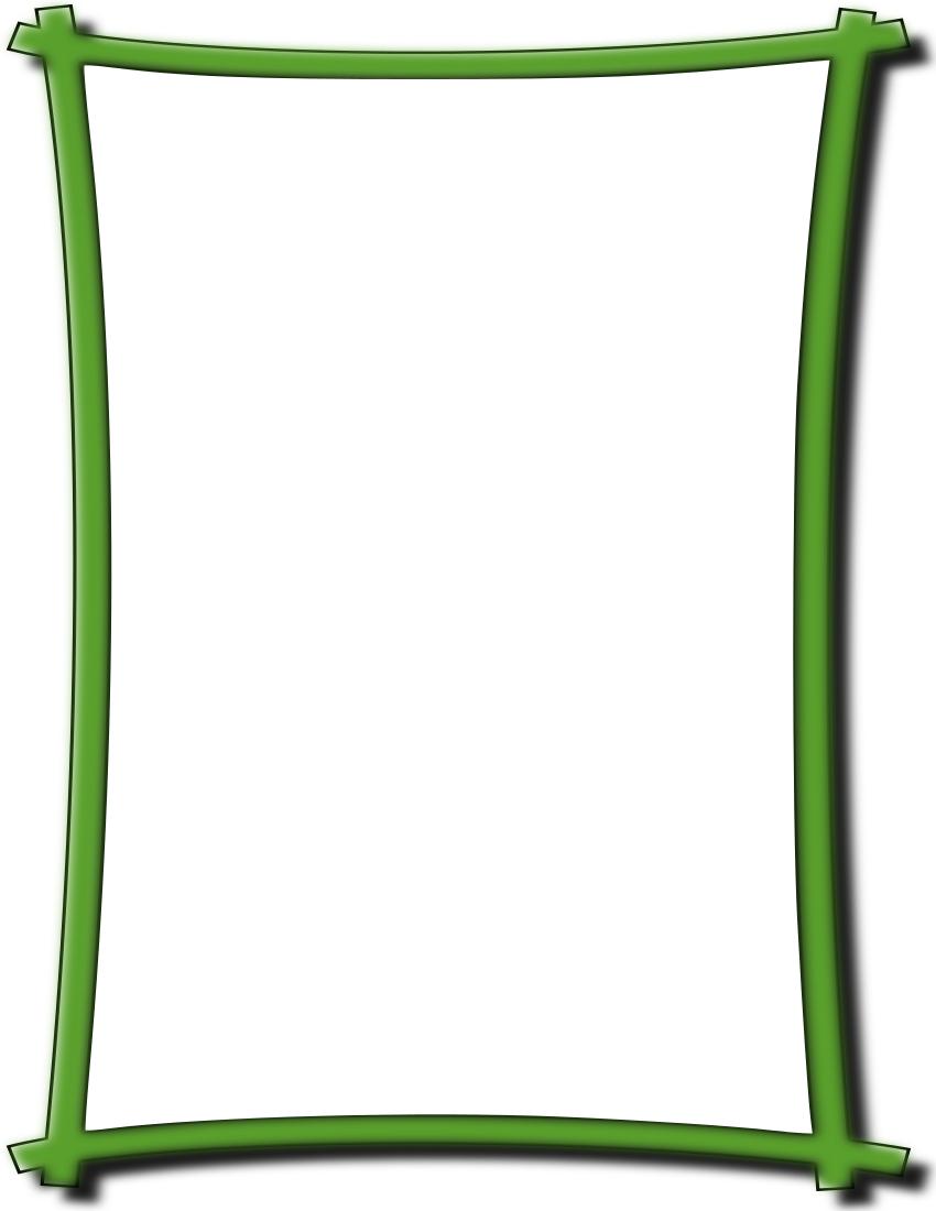 Bold frame green pageframessimpleornamentalboldframe download jeuxipadfo Images