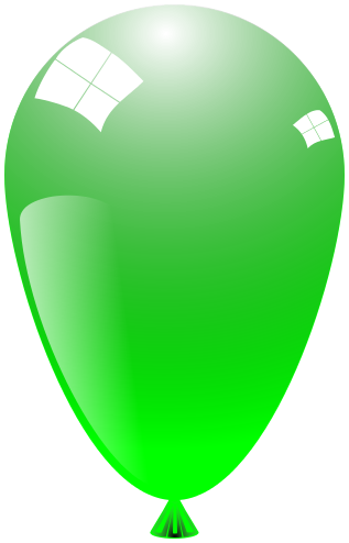balloon shiny bright green   recreation  party  glossy clipart of balloons with aka written on them clipart of balloons free